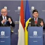 Corlățean către omologul olandez: Sperăm într-o decizie privind Schengen până la finalul anului. NU vedem legătura cu MCV