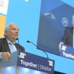 Popularii europeni l-au reales pe Joseph Daul în funcția de președinte PPE: Ne asumăm leadership-ul european în politicile externă, de securitate, fiscală și economică