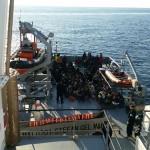 Circa 1.850 de imigranţi nord-africani, salvaţi luni în sudul Mării Mediterane