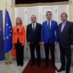 VIDEO Federica Mogherini, la Ankara: UE va continua să lucreze cu Turcia privind liberalizarea regimului de vize