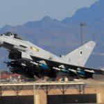 Marea Britanie contribuie la securitatea României: Forțele aeriene britanice trimit patru avioane Eurofighter și 150 de militari la baza Mihail Kogălniceanu