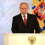 """Președintele rus Vladimir Putin atenționează că retragerea SUA din tratatele de dezarmare va duce """"la o cursă a înarmării"""""""