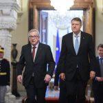 Klaus Iohannis, după întâlnirea cu Jean-Claude Juncker și membrii Comisiei Europene: Problemele de politică internă nu trebuie să afecteze președinția României la Consiliul UE