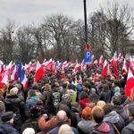 Proteste la Varșovia: Mii de polonezi au ieșit în stradă pentru a cere mărirea salariilor în sectorul public
