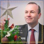 Președintele Grupului PPE din cadrul Parlamentului European, Manfred Weber: Vă doresc tuturor un Crăciun liniștit și binecuvântat