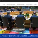 Site-ul pentru pregătirea președinției României la Consiliul UE a fost lansat. Cum arată acesta