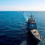 O navă de război a SUA a ajuns în Marea Neagră, pe fondul crizei ruso-ucrainiene din Marea de Azov