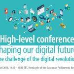 VIDEO Viitorul digital al Europei – Conferință la nivel înalt organizată de Parlamentul European și Comisia Europeană la Bruxelles