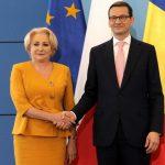 Premierul Viorica Dăncilă, discuție telefonică cu omologul polonez după vizita sa la Comisia Europeană: România va asigura o președinție de succes și va promova coeziunea