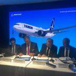 Tarom cumpără cinci avioane noi Boeing 737 MAX 8. Aeronavele vor fi livrate până în 2023