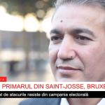 VIDEO INTERVIU Primarul din Saint-Josse, Emir Kir, răspunde atacurilor rasiste din campania electorală din Bruxelles. Mesajul său pentru români