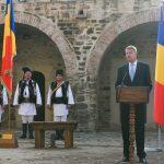 Președintele Klaus Iohannis, la Cetatea de Scaun a Sucevei: Mesajul profund al Centenarului este acela de a nu abandona niciodată proiectele care ne unesc cu adevărat într-o națiune puternică