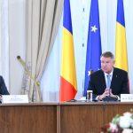 """Klaus Iohannis la întâlnirea cu liderii PE prezenți la București: """"Succesul președinției României va depinde în mare măsură de voința politică puternică a Parlamentului European și a Consiliului"""""""