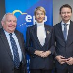 Prim-vicepreședintele PNL Raluca Turcan, întrevedere la Bruxelles cu președintele PPE, Joseph Daul și liderul grupului PPE, Manfred Weber