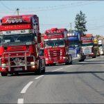 Uniunea Națională a Transportatorilor Rutieri din România protestează astăzi  în fața Reprezentanței Comisiei Europene de la București pentru stoparea adoptării pachetului Mobilitate 1
